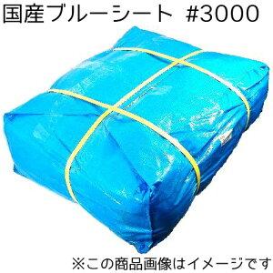 国産クロスシート ブルー #3000 9m×9m 2枚セット (SK)