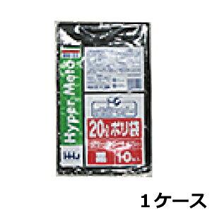 《法人様宛限定》ポリ袋 HHJ BM22 黒20L 0.025mm×520mm×600mm 1000枚/ケース