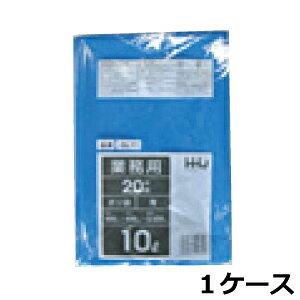 《法人様宛限定》ポリ袋 HHJ GL11 青10L 0.025mm×450mm×500mm 計6000枚/5ケースセット