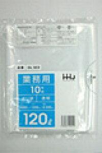 《法人様宛限定》ポリ袋 HHJ GL123 透明120L 0.030mm×1000mm×1200mm 計1000枚/5ケースセット