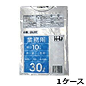 《法人様宛限定》ポリ袋 HHJ GL38 透明30L 0.040mm×500mm×700mm 500枚/ケース