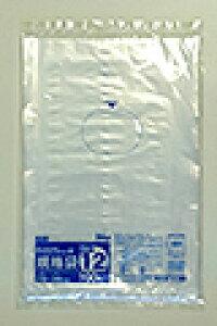 《法人様宛限定》規格袋 HHJ JM12 透明 規格袋12号 0.025mm×230mm×340mm 5000枚/ケース