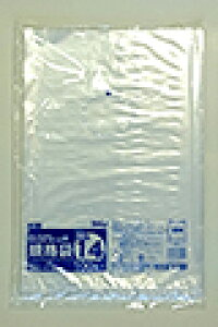 《法人様宛限定》規格袋 HHJ JM14 透明 規格袋14号 0.025mm×280mm×410mm 3000枚/ケース