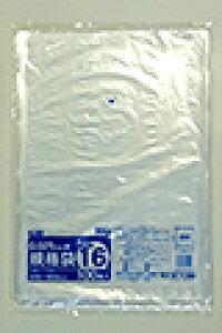 《法人様宛限定》規格袋 HHJ JM16 透明 規格袋16号 0.025mm×340mm×480mm 2000枚/ケース