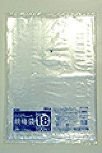 《法人様宛限定》規格袋 HHJ JM18 透明 規格袋18号 0.025mm×380mm×530mm 計10000枚/5ケースセット
