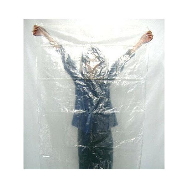 ポリ袋(ビニール袋) (超厚手/大型)0.1mm×800mm×1500mm (透明)50枚 【当店製造品】