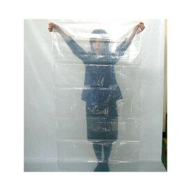 再生透明ポリ袋/業務用ゴミ袋(厚手/大型)0.07mm×950mm×1900mm (透明)50枚