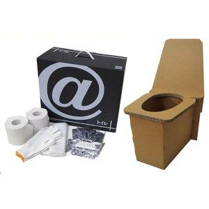 段ボール製 非常用・野外用 簡易トイレ 3セット(KHS)