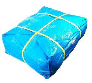 ブルーシート #3000(輸入品) 3.6m×3.6m(S) 7枚(1梱包)| 厚手 防水 カラー 養生 園芸 レジャー アウトドア カバー 建設シート 青シート 防水 花見 台風対策 養生 レジャー アウトドア 雨よけ