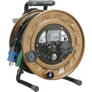 ハタヤ メタルセンサーリール 単相100V接地付 30m 接地抵抗可変式 《発注単位:1台》(OB)