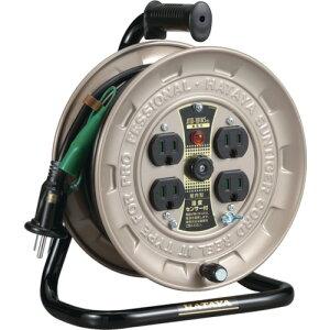 ハタヤ 温度センサー付コードリール単相100V10M アース付 《発注単位:1台》(OB)