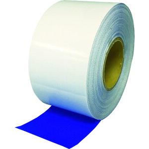 【ポイント3倍!5/15まで】 TRUSCO シート補修テープ ブルー 幅100mm 長さ20m 《発注単位:1巻》(OB)