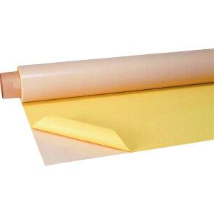 チューコーフロー 広幅・セパレーター付フッ素樹脂(PTFE)粘着テープ AGF−400−10 0.29t×1000w×1m 《発注単位:1巻》(OB)