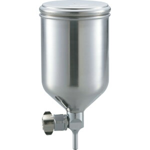 TRUSCO フリーアングル塗料カップ 重力式用 容量0.4L 脚付 《発注単位:1個》(OB)