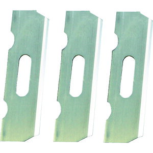 KAKURI 利蔵 替刃式鉋 替刃3枚入 42mm 《発注単位:1セット(3枚)》(OB)