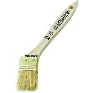 【ポイント3倍!5/15まで】 TRUSCO 多用途刷毛 豚毛 30mm 《発注単位:1本》(OB)