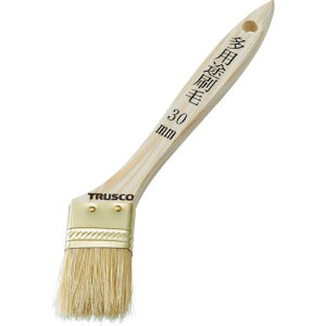 【ポイント3倍!5/15まで】 TRUSCO 多用途刷毛 豚毛 70mm 《発注単位:1本》(OB)