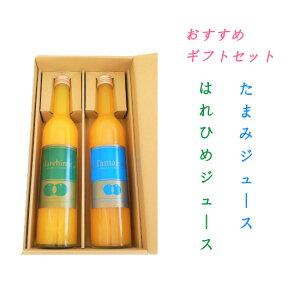 たまみ&はれひめ2本セット 500ml×各1本 / ジュース たまみ はれひめ みかん 柑橘 ストレートジュース 果汁100%