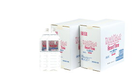 【新規商品特別ポイント10倍付与!2021年5月末迄限定!】アルカリ『生!』天然水「リセットタイム」2L×6本・2箱