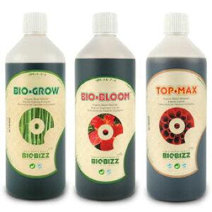 有機肥料 BIO BIZZ バイオビズシリーズ 1L 有機肥料のお得な3本セット Organic Nutrients