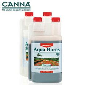 水耕栽培 肥料のCANNA AQUA Flores キャナフローラ A+B 各1L Hydroponic Nutrients