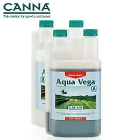 液体肥料 水耕栽培 CANNA AQUA Vega キャナベガ A+B 各1L Hydroponic Nutrients
