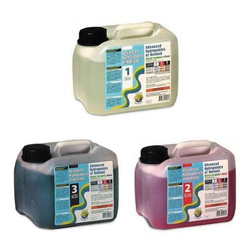 水耕栽培の液体肥料 ダッチフォーミュラ Dutch Formula 5L 3本セット Hydroponic Nutrients