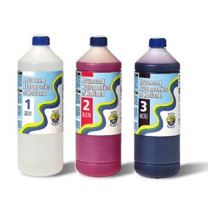 水耕栽培の液体肥料 ダッチフォーミュラ Dutch Formula 500ml 3本セット Hydroponic Nutrients