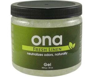 ONA FreshLinen Gel 1L クチコミで大人気の不快なにおいを消臭する臭気中和剤(ジェルタイプ)