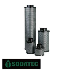 植物育成用 SODATEC ソダテック 空気清浄 換気エアーフィルター Φ100mm×300mm
