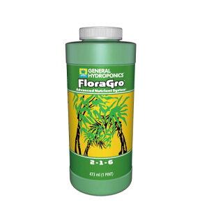 水耕栽培の液体肥料 GH フローラグロウ GH Flora Gro 946ml  Hydroponic Nutrients