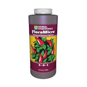 水耕栽培の液体肥料 GH フローラマイクロ GH Flora Micro 946ml Hydroponic Nutrients