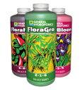 液体肥料 GH Flora フローラ 473ml お得な3本セット Hydroponic Nutrients