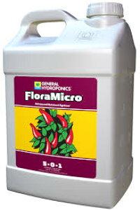 水耕栽培の液体肥料 GH フローラマイクロ GH Flora Micro 9.46L Hydroponic Nutrients