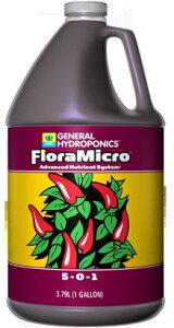 水耕栽培の液体肥料 GH フローラマイクロ GH Flora Micro 3.78L Hydroponic Nutrients