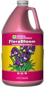水耕栽培の液体肥料 GH フローラブルーム GH Flora Bloom 3.78L Hydroponic Nutrients