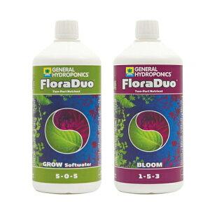 液体肥料 GHE FloraDuo Series 1L お得な2本セット Hydroponic Nutrients GHEフローラデュオ