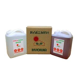 ハイポニカの水耕栽培 液体肥料 4リットルset Hydroponic Nutrients