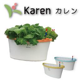 ホームハイポニカ Karen カレン LEDも使える 水耕栽培 キット[循環システム] 送料込