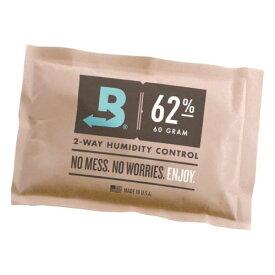 Boveda 62% RH, 67g 保存容器内の湿度を一定に保つための調湿剤