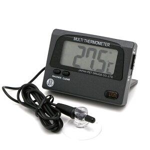 マルチ水温,温度計のダブルセンサー搭載
