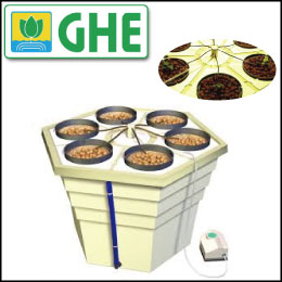 LEDも使える 水耕栽培 キット GHE Eco Grower Max Hydro Systems
