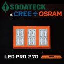 植物育成 LED ライト (ソダテックLEDプロ)SODATECK LED PRO 270 送料無料 Grow LED Lighting