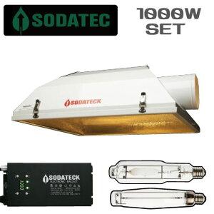 植物育成 ライト 1000wセット (AC150リフレクター植物育成ライトセット1000W 3段階で調光可能で24時間タイマー内臓)〔送料無料〕〔安心の1年保証〕 GROW LIGHT
