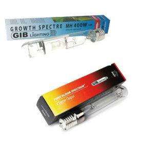 植物育成ライト GIB Lighting Grow Spectre MH400W / GIB Lighting Pure Bloom HPS400W SET