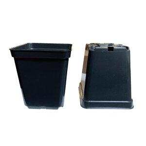 植木鉢 スクエアポット 水耕栽培/土耕栽培用ポット スクエアポット-SSサイズ