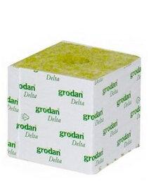 水耕栽培の培地 ブロック型ロックウール grodan Delta 10G (100×100×100mm)