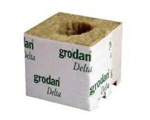 水耕栽培の培地 ブロック型ロックウール grodan DM4G