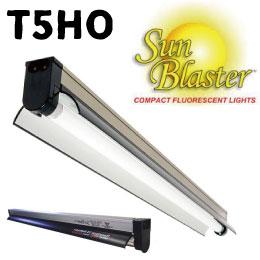 植物育成ライト(蛍光灯) Sunbaster T5HO 2FT(60cm)リフレクターSET【送料全国一律650円.沖縄、離島除く】 Grow Fluorescent Lighting