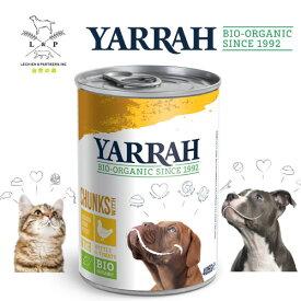 【9/20 24時間限定最大10%OFF】ドッグディナーチキンチャンク缶400g ヤラー(YARRAH) ドッグフード ウエット 缶詰 オーガニック認証 オーガニック 無添加 腎臓 アレルギー 皮膚病 グレインフリー